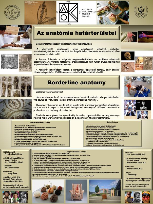 Az anatómia határterületei